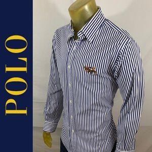 Ralph Lauren Polo Crushed Cotton Pony's Shirt
